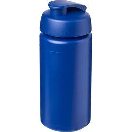 Baseline® Plus grip 500 ml sportfles met flipcapdeksel blauw