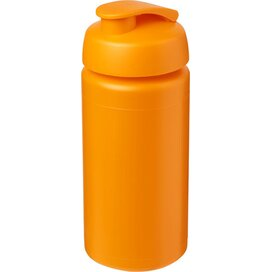 Baseline® Plus grip 500 ml sportfles met flipcapdeksel Oranje