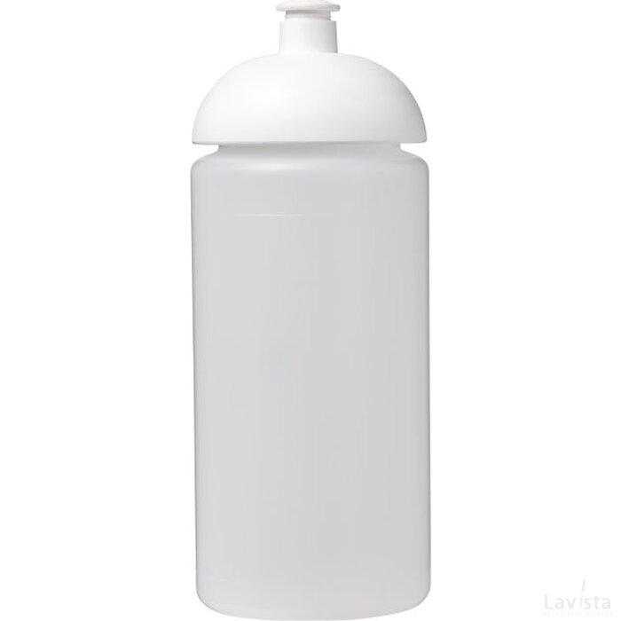 Baseline® Plus grip 500 ml bidon met koepeldeksel Transparant,Wit