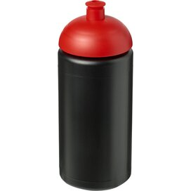 Baseline® Plus grip 500 ml bidon met koepeldeksel Zwart,Rood