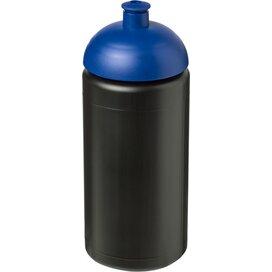 Baseline® Plus grip 500 ml bidon met koepeldeksel Zwart,blauw