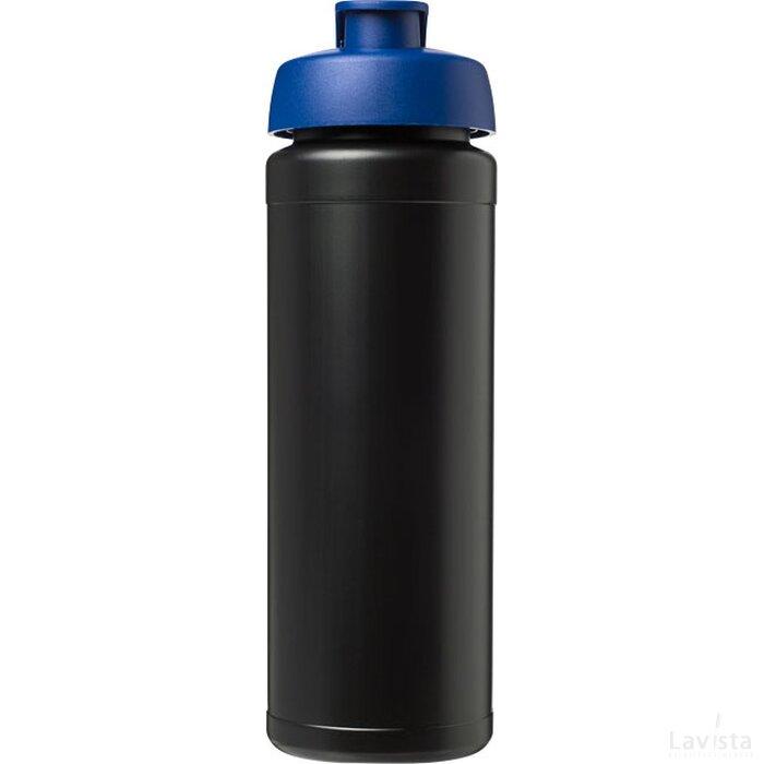 Baseline® Plus grip 750 ml sportfles met flipcapdeksel Zwart,blauw
