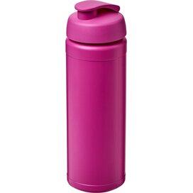 Baseline® Plus grip 750 ml sportfles met flipcapdeksel Roze Magenta