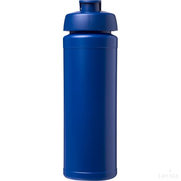 Baseline® Plus grip 750 ml sportfles met flipcapdeksel blauw