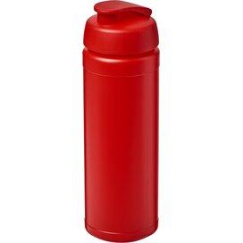 Baseline® Plus grip 750 ml sportfles met flipcapdeksel Rood