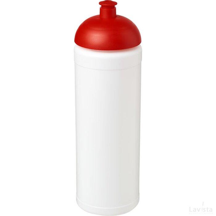 Baseline® Plus grip 750 ml bidon met koepeldeksel Wit,Rood