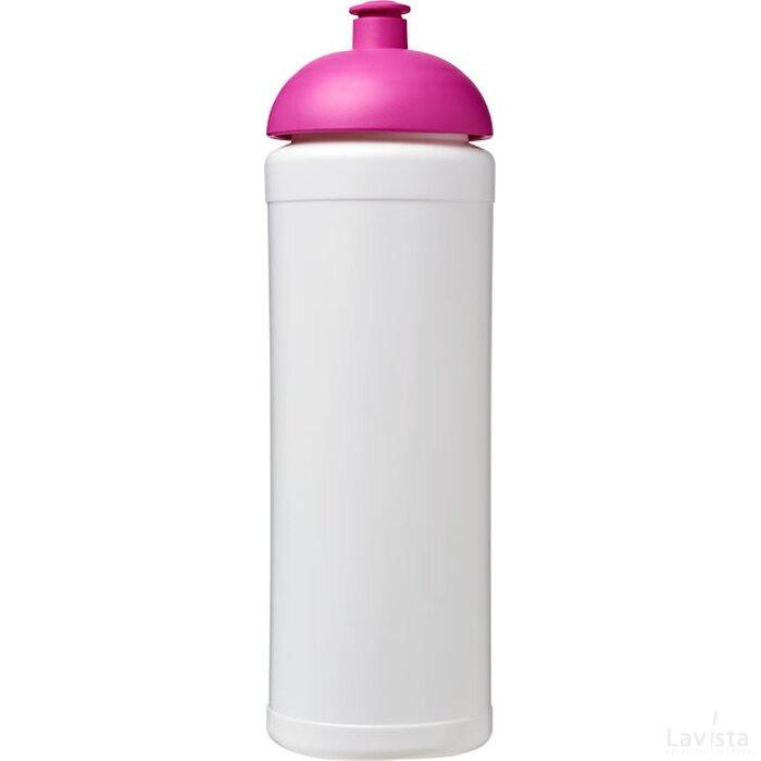 Baseline® Plus grip 750 ml bidon met koepeldeksel Wit,Roze