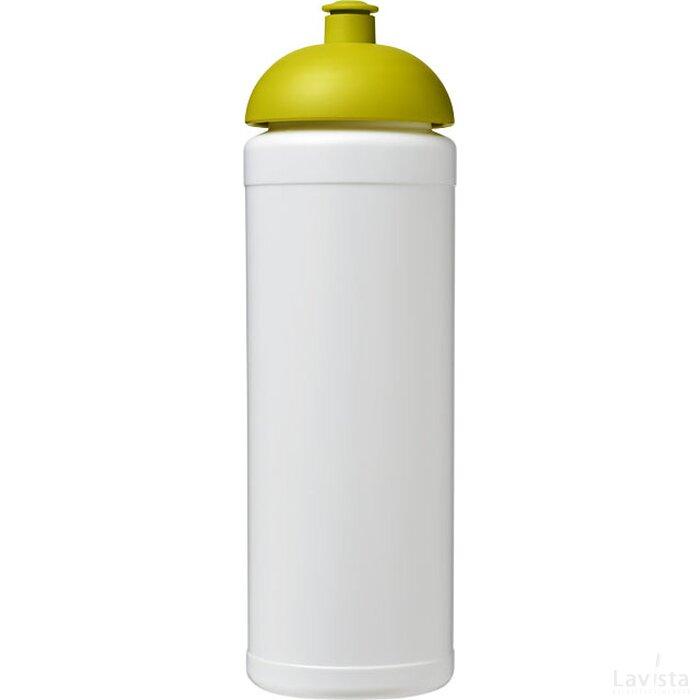 Baseline® Plus grip 750 ml bidon met koepeldeksel Wit,limegroen