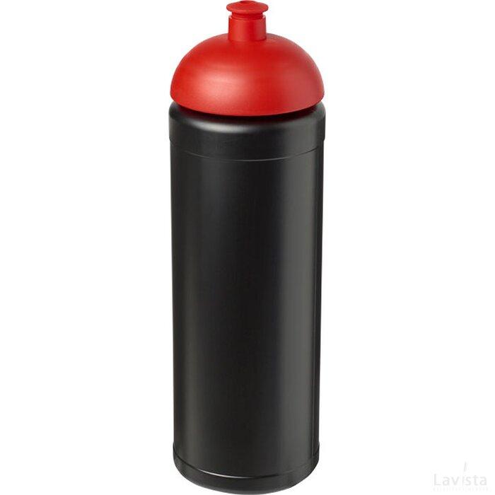 Baseline® Plus grip 750 ml bidon met koepeldeksel Zwart,Rood