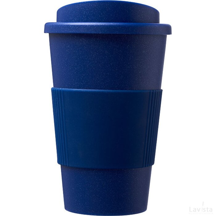 Americano® Midnight grip 350 ml geïsoleerde beker blauw