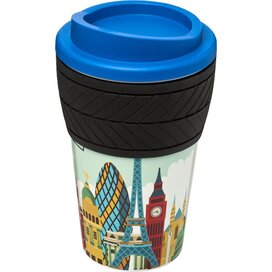 Americano® espresso 250 ml geïsoleerde beker blauw