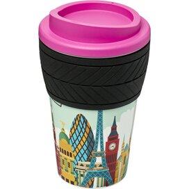 Americano® espresso 250 ml geïsoleerde beker Roze Magenta