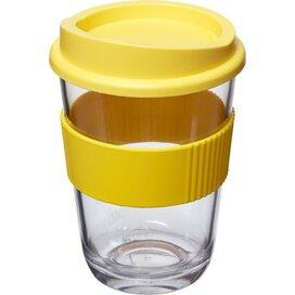 Americano® cortado 300 ml beker met grip geel