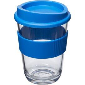 Americano® cortado 300 ml beker met grip Mid Blue