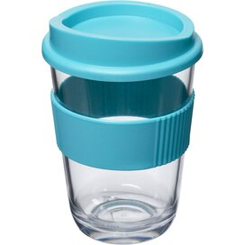 Americano® cortado 300 ml beker met grip aqua