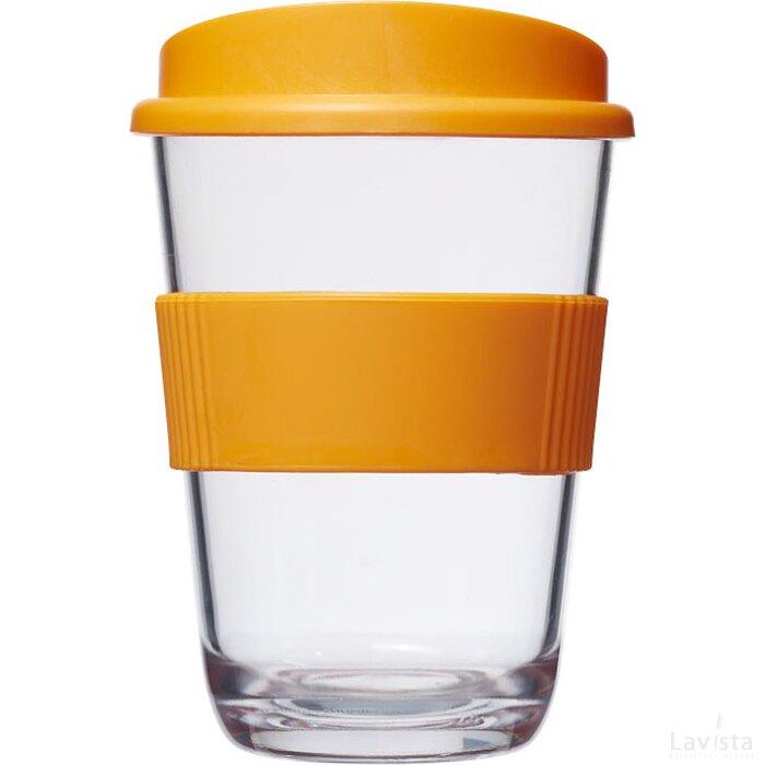 Americano® cortado 300 ml beker met grip Oranje