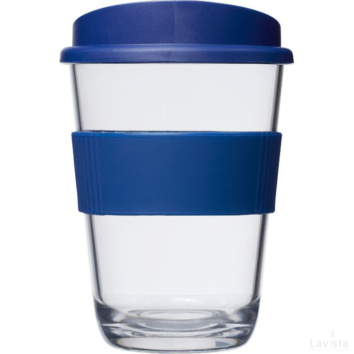 Americano® cortado 300 ml beker met grip blauw
