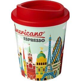 Brite Americano® espresso 250 ml geïsoleerde beker Rood