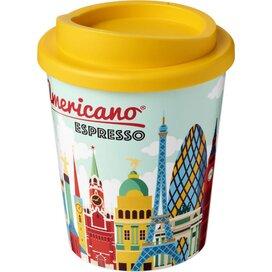 Brite Americano® espresso 250 ml geïsoleerde beker geel
