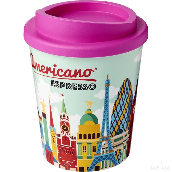 Brite Americano® espresso 250 ml geïsoleerde beker Roze