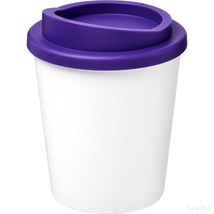 Americano® espresso 250 ml geïsoleerde beker Wit,Paars