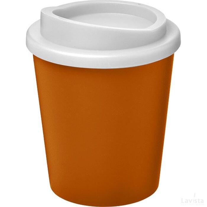 Americano® espresso 250 ml geïsoleerde beker Oranje,Wit