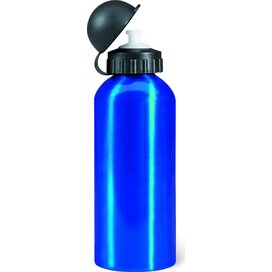 Metalen bidon 600 ml Biscing blauw