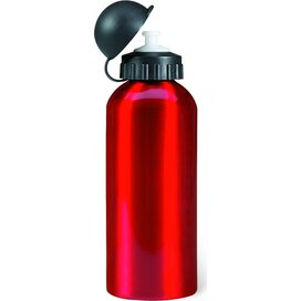 Metalen bidon 600 ml Biscing rood
