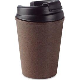 Dubbelwandige mok van koffie/pp Brazil bruin