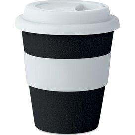 Drinkbeker van bamboe/ pp Astoria espresso zwart