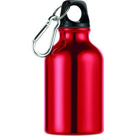 Aluminium fles 300 ml Moss rood