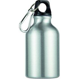 Aluminium fles 300 ml Moss mat zilver