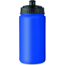 Kunststof drinkfles 500 ml Spot five royal blauw