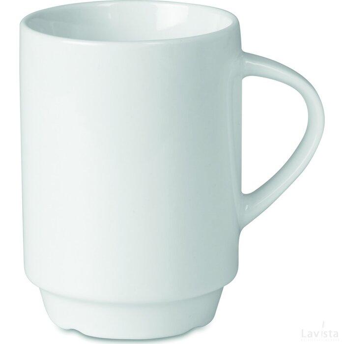 Porceleinen mok 200 ml Vienna wit