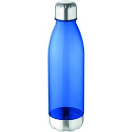 Drinkfles tritan™ 600 ml Aspen transparant blauw