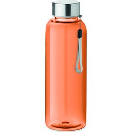 Drinkfles 500 ml Utah transparant oranje
