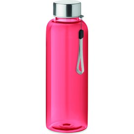 Drinkfles 500 ml Utah transparant rood