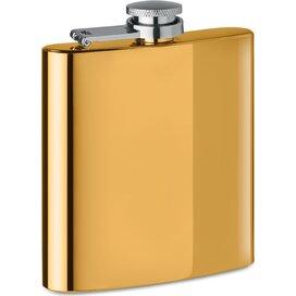 Slanke heupfles Slimmy flask + goud