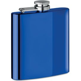 Slanke heupfles Slimmy flask + royal blauw