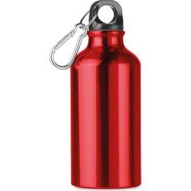 Aluminium drinkfles 400 ml Mid moss rood