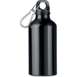 Aluminium drinkfles 400 ml Mid moss zwart