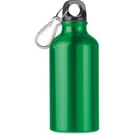 Aluminium drinkfles 400 ml Mid moss groen