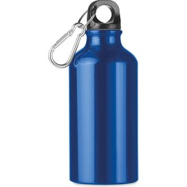 Aluminium drinkfles 400 ml Mid moss blauw