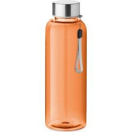 Rpet bottle 500ml Utah rpet transparant oranje