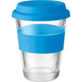 Glazen drinkbeker 350 ml Astoglass blauw