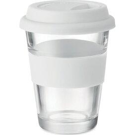 Glazen drinkbeker 350 ml Astoglass wit