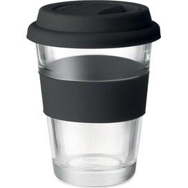 Glazen drinkbeker 350 ml Astoglass zwart