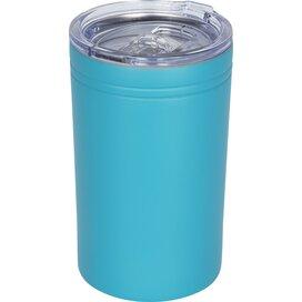 Pika 330 ml vacuum geïsoleerde beker en koeler turquoise