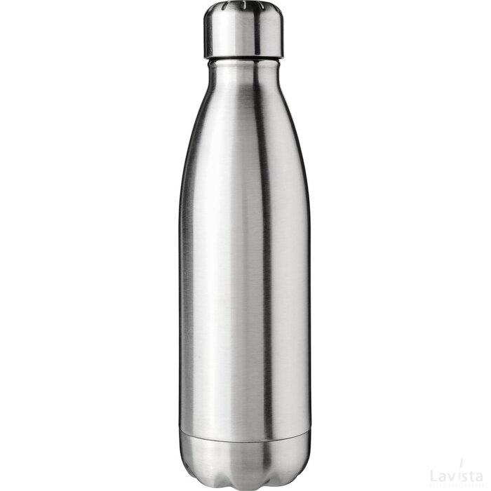 Arsenal 510 ml vacuüm geïsoleerde drinkfles Zilver