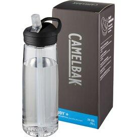 Eddy+ 750 ml Tritan™ drinkfles Transparant